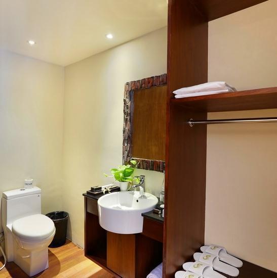 Pandawa All Suite Hotel Bali - Kamar mandi