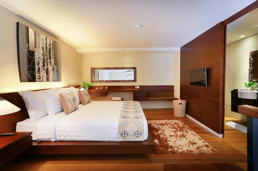 Pandawa All Suite Hotel Bali - satu bed kamar