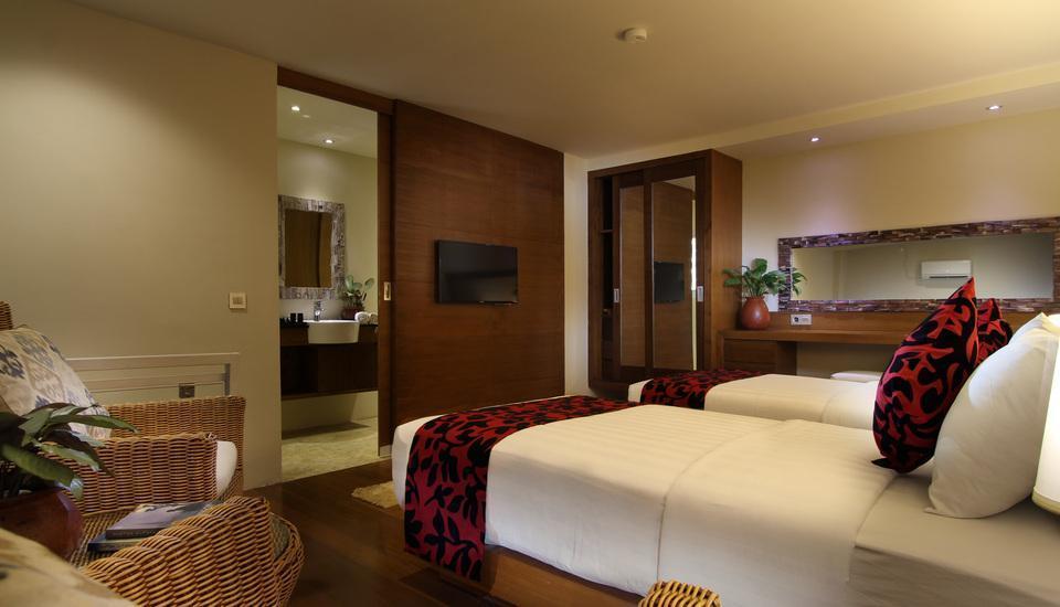 Pandawa All Suite Hotel Bali - Dua tempat tidur