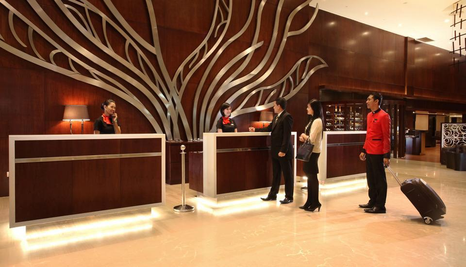 Swiss-Belhotel Harbour Bay Batam - SBHB Lobby Reception