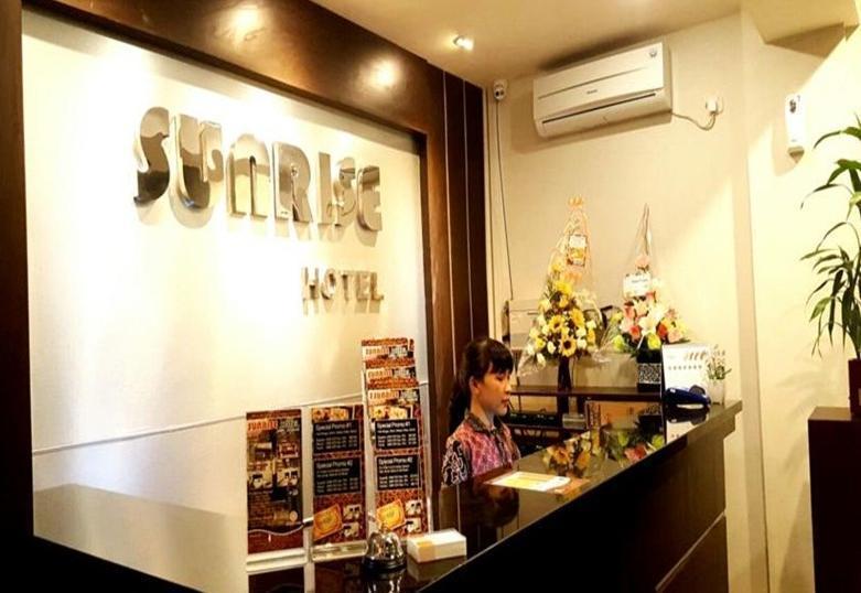 Sunrise Hotel Jombor Yogyakarta - Resepsionis