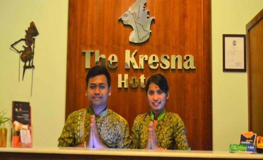 The Kresna Hotel Yogyakarta - Resepsionis