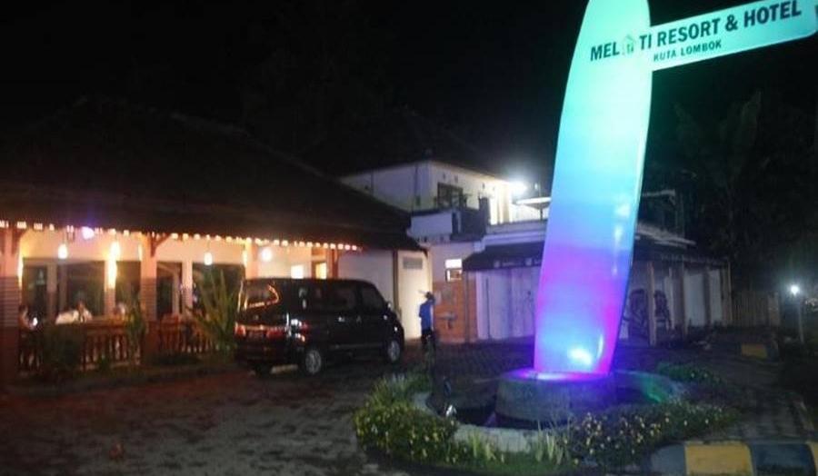 Melati Resort & Hotel Kuta Lombok Lombok - Tampilan Luar Hotel
