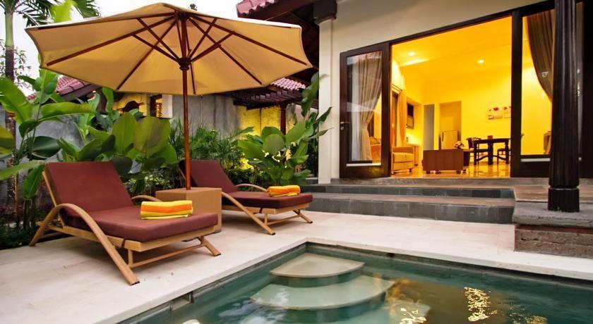 The Club Villas Bali - Kolam Renang