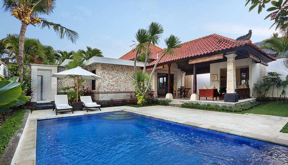 The Club Villas Bali - Satu Honeymoon Villa Kamar, kolam pribadi