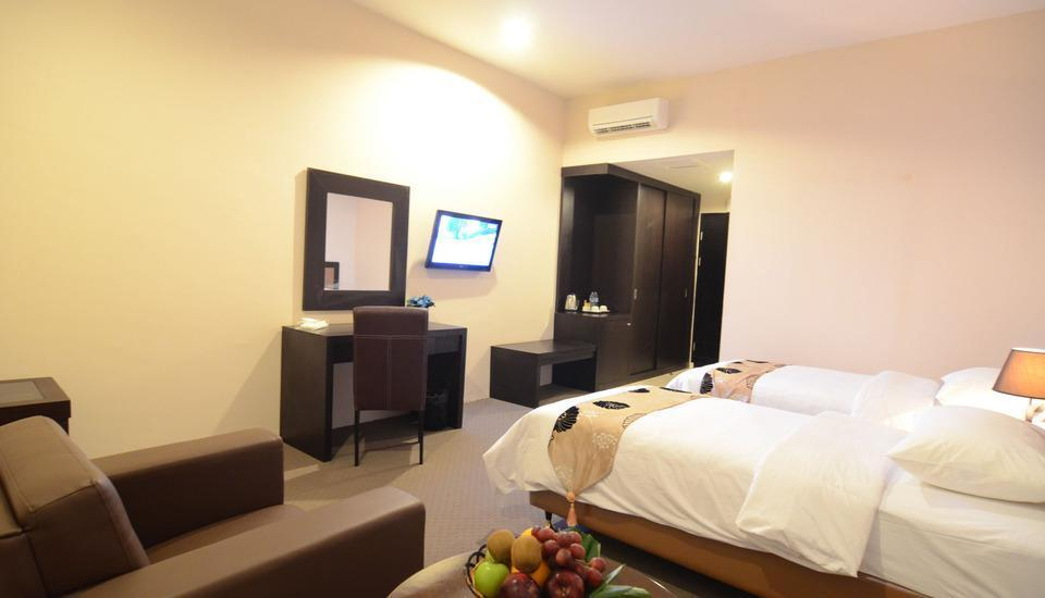 Grand Kanaya Hotel Medan - DELUXE TWIN BED