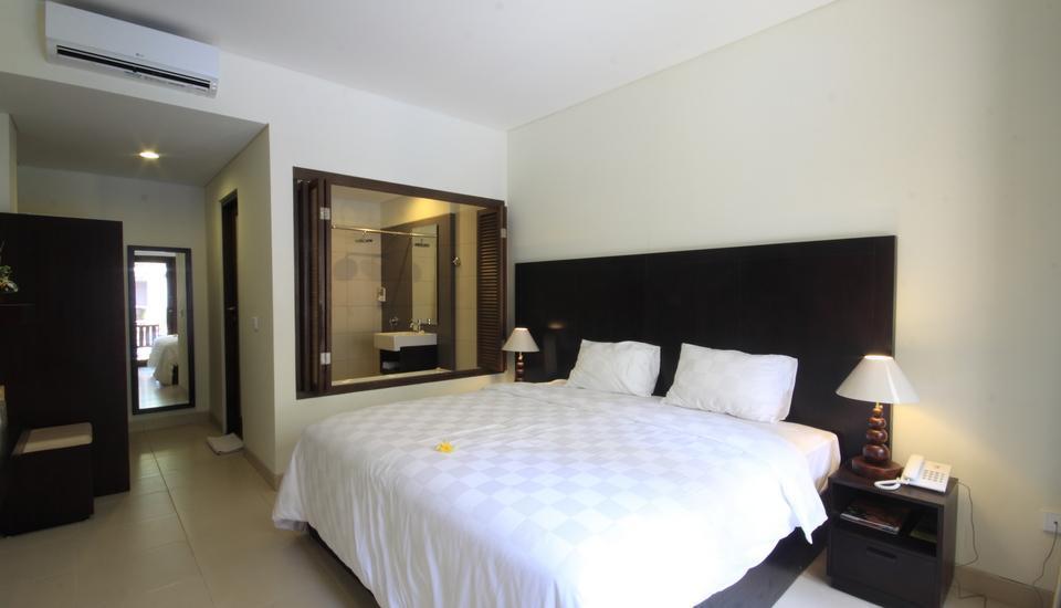 Suris Boutique Hotel Bali - Deluxe Pool View Room Only Penawaran Hebat