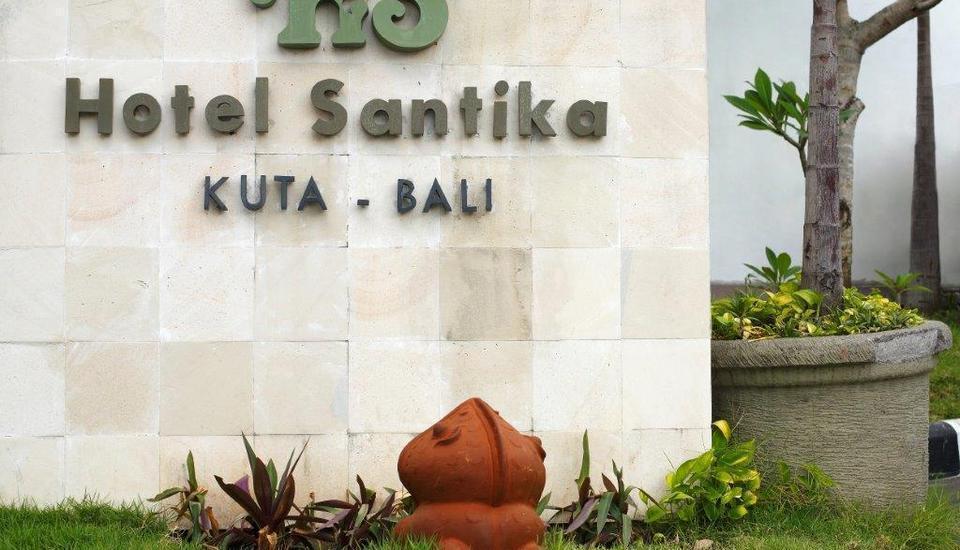 Hotel Santika Kuta Bali - Taman