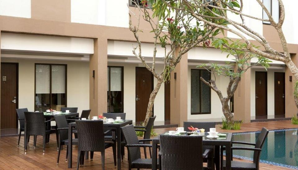 Hotel Santika Kuta Bali - Area Santap