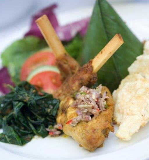 Hotel Santika Kuta Bali - Masakan Khas Bali