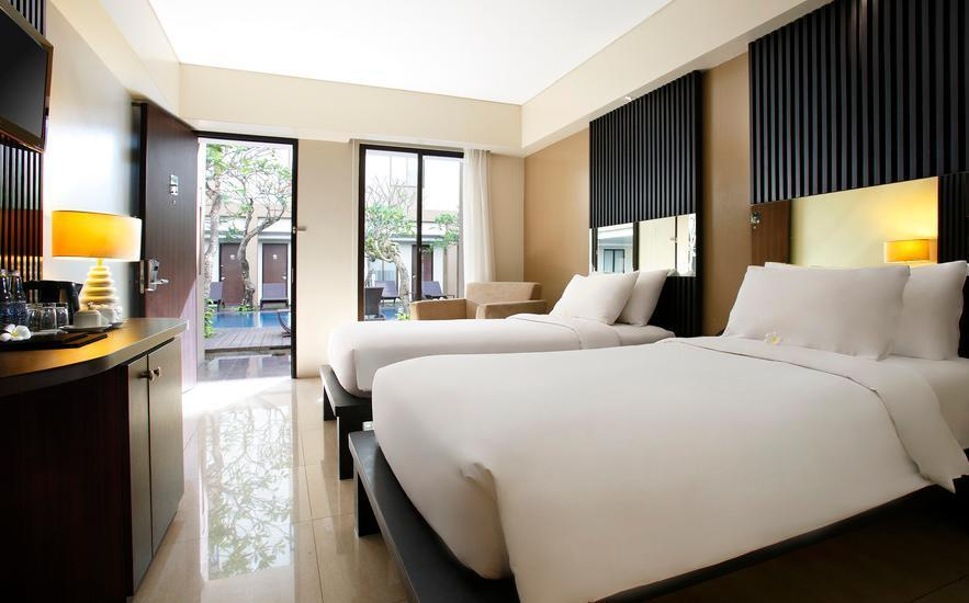 Hotel Santika Kuta Bali - Executive Room Twin Last Minute Deal