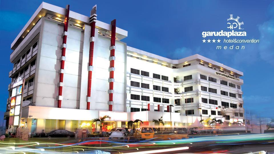 Garuda Plaza Hotel Medan - Tampak luar gedung