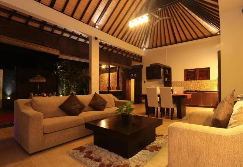 CK Luxury Villas Bali - Ruang tamu