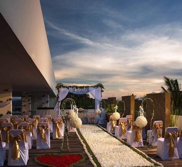 Sun Island Hotel Kuta - Dekorasi Pernikahan