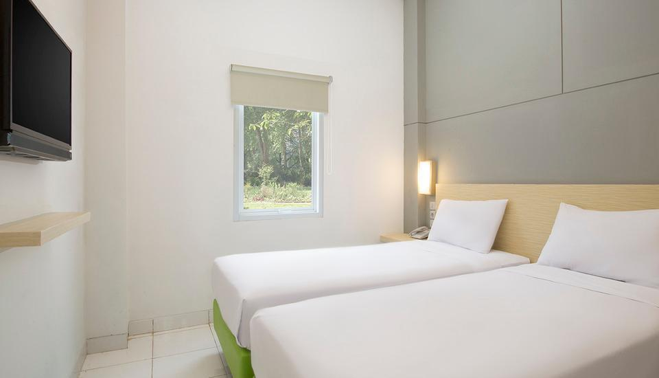 Odua Bekasi Hotel Bekasi - Deluxe Twin Room Only Regular Plan