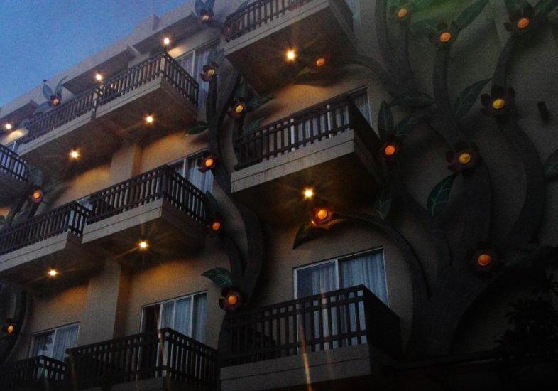 The Tusita Hotel Bali - Tampilan Depan Hotel