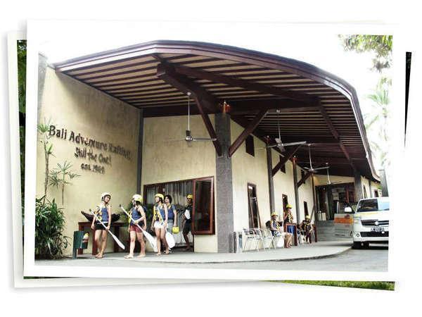 Elephant Safari Park Bali - 1 arung jeram