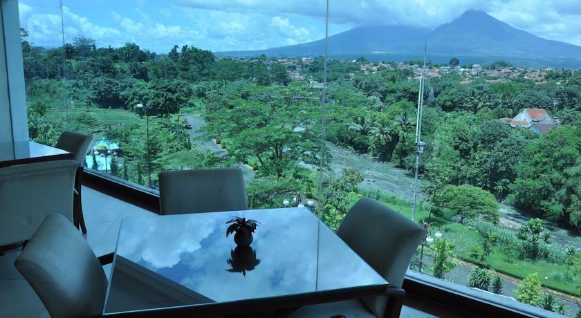 Hotel Braja Mustika Bogor - City View