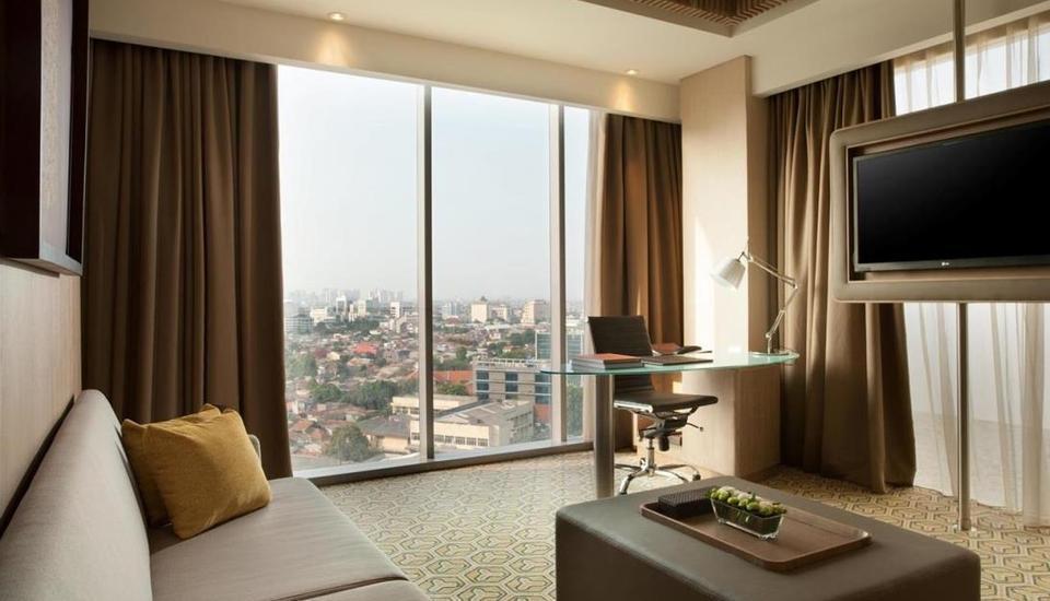DoubleTree by Hilton Jakarta -  Diponegoro - Ruang tamu