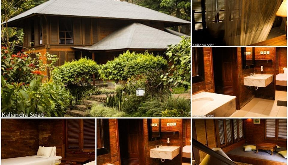 KALIANDRA Eco Resort & Organic Farm Pasuruan - Two Storey Bungalow Regular Plan