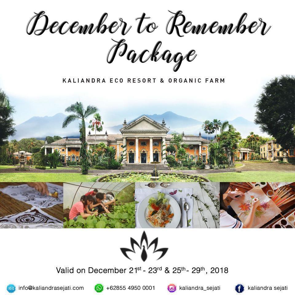 KALIANDRA Eco Resort & Organic Farm Pasuruan - Harga paket untuk liburan
