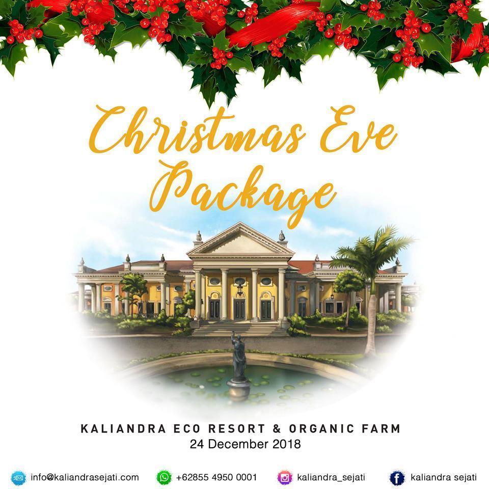 KALIANDRA Eco Resort & Organic Farm Pasuruan - Harga paket untuk malam natal