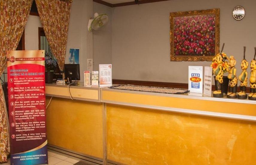 Hotel Amanah Benua Cirebon - Resepsionis