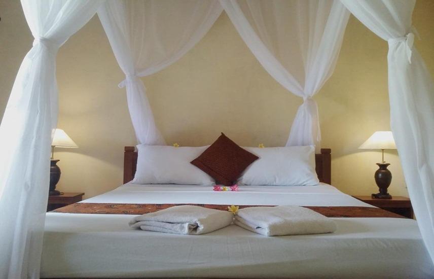 Molleh Guest House Bali - Standard Double with Fan Regular Plan