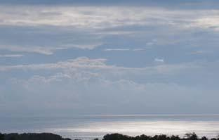 Pecatu Guest House Bali - Pemandangan laut dari teras Kamar Suite