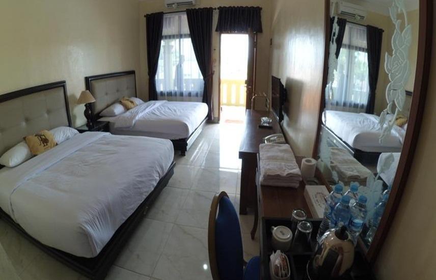 Krisna Beach Hotel 2 Pangandaran by CILAS Pangandaran - Kamar