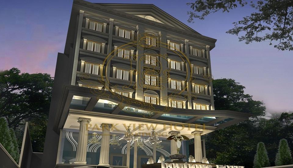 Park View Hotel Bandung - Tampilan Luar Hotel