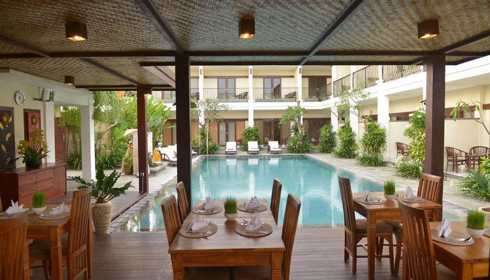 Uma Sri Hotel Bali - Restauran