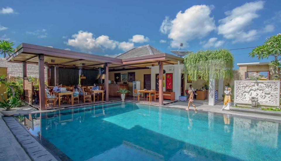 Uma Sri Hotel Bali - Restoran