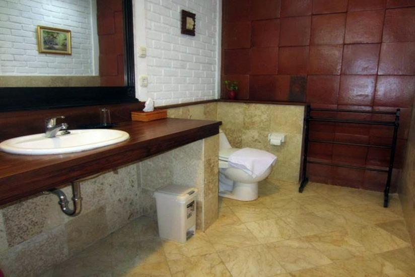 DanSte Villas Bali - Kamar mandi