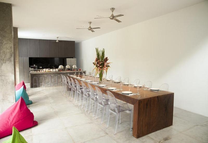 Simpatico Villas Bali - Ruang makan