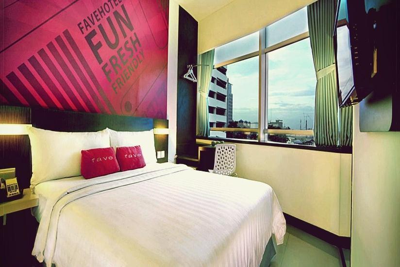 favehotel Pluit Junction Jakarta - Kamar Tamu