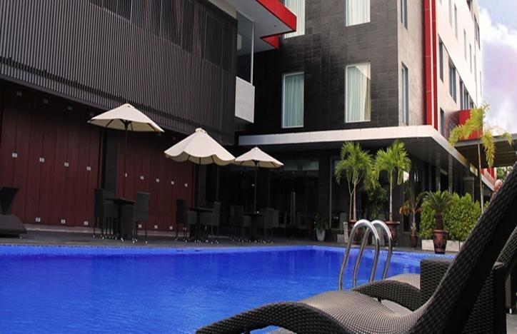 Grand Hatika Hotel Belitung - Tampilan Luar Hotel