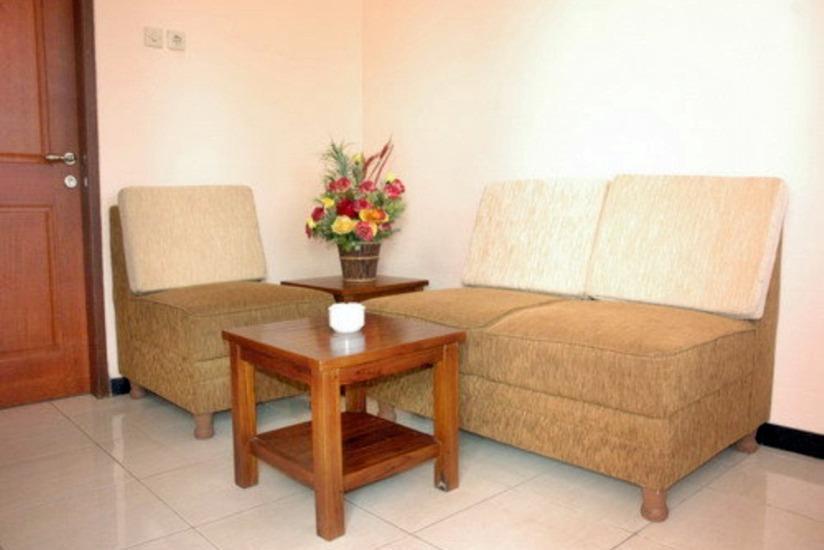 Atrium Resort & Hotel Purwokerto - Ruang tamu