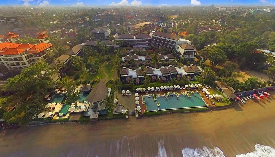 Seminyak Beach Resort Bali - Aerial Photo The Seminyak
