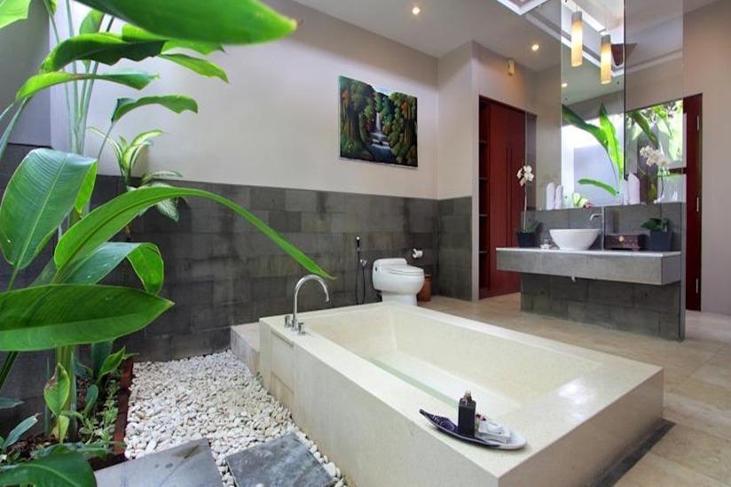 Aria Exclusive Villas & Spa Bali - Kamar mandi