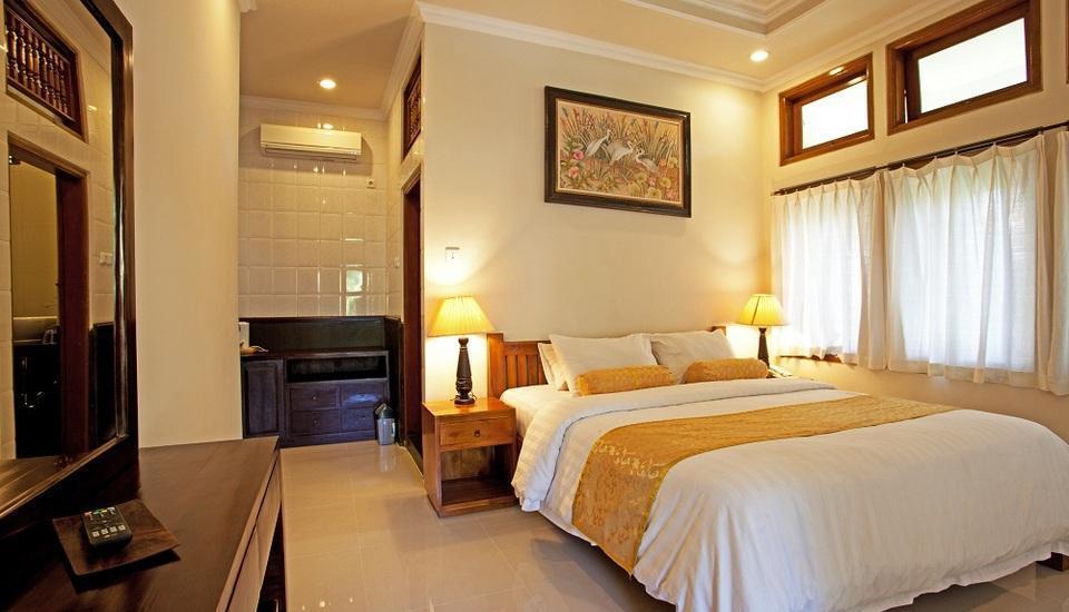Artini 3 Cottages Bali - Deluxe Tempat Tidur Double