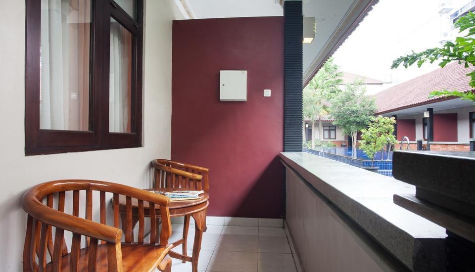 Puri Ganesh Bali - Balcony
