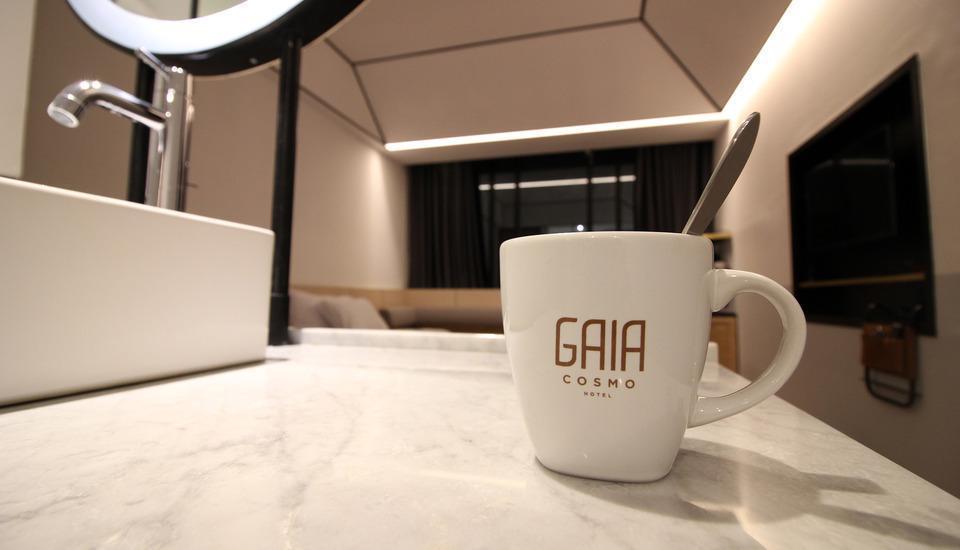 GAIA Cosmo Hotel Jogja - Kamar tamu