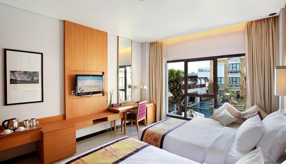 Grand Inna Bali - Deluxe pemandangan Kolam Renang