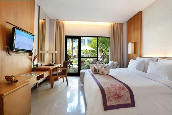 Grand Inna Bali - Deluxe Pool View LUXURY - Pegipegi Promotion