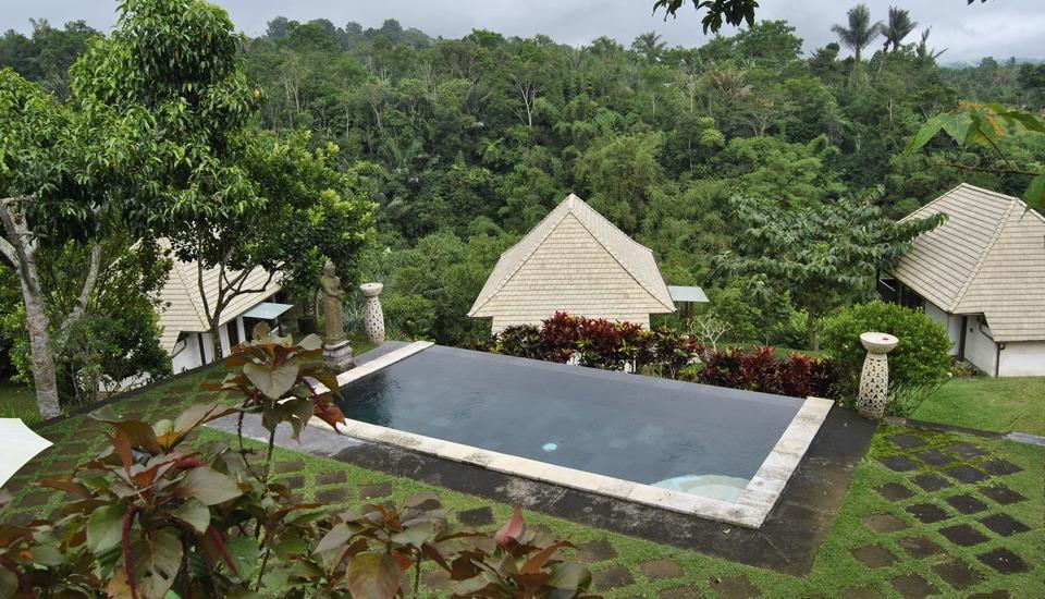 Bagus Arga Pelaga Bali - Kolam Renang dekat kompleks Farm Villa