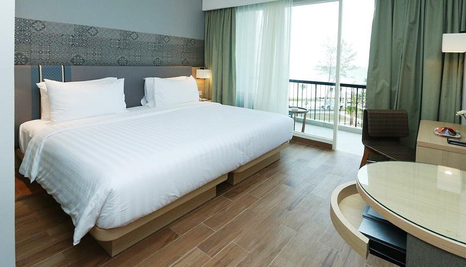Santika Premiere Beach Resort Belitung Belitung - Deluxe Double Room Special Promo Last Minute Deal