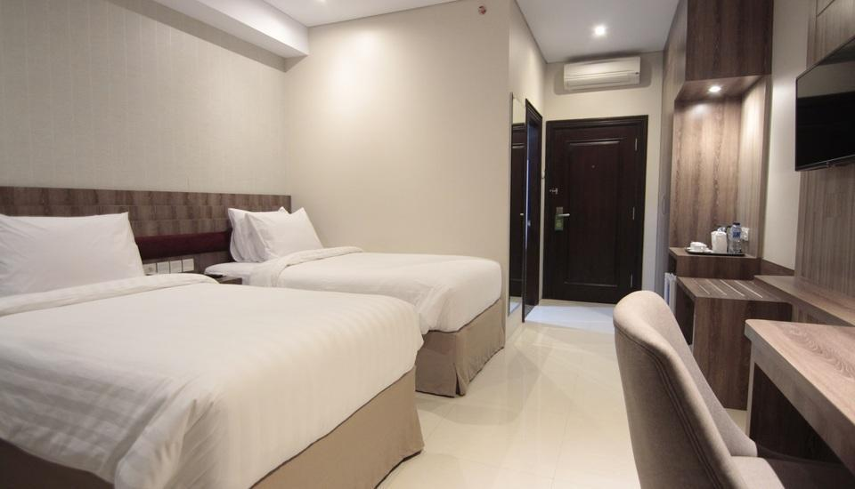 Tara Hotel Yogyakarta - Deluxe Twin Room Only Regular Plan