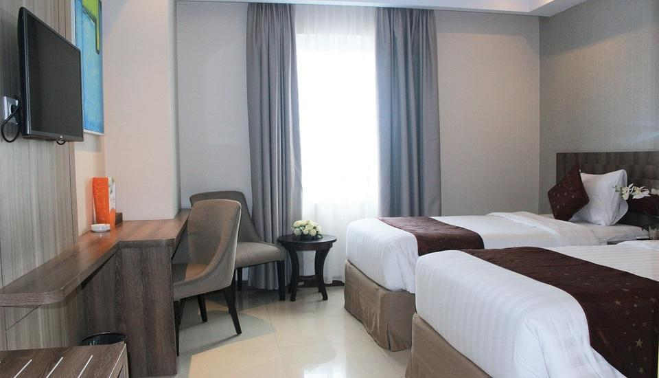 Tara Hotel Yogyakarta - Deluxe Twin Save 10% With 20% F&B Discount
