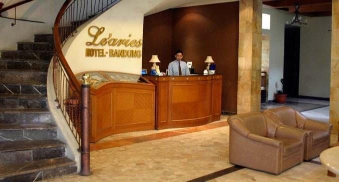 Le Aries Garden Boutique Hotel Bandung - Resepsionis
